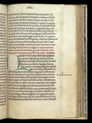 Decorated Initial, In Bede's 'Commentary On The Catholic Epistles' And 'Commentary On Tobit' f.56r